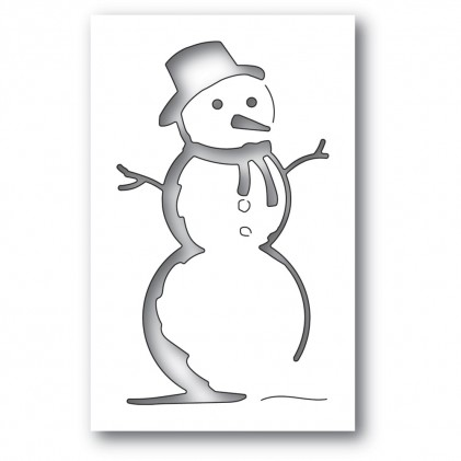 Memory Box Stanzschablone - Charming Snowman Collage