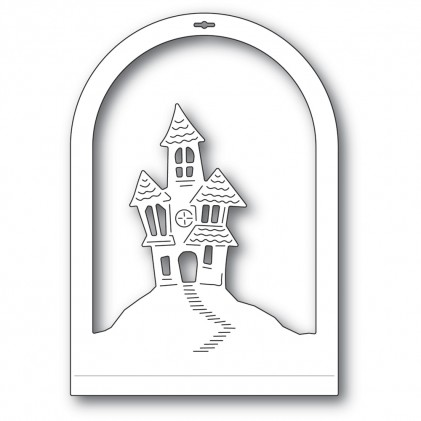 Memory Box Stanzschablone - Haunted House Dome Layer