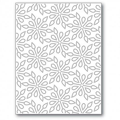 Memory Box Stanzschablone - Pinpoint Snowflake Plate