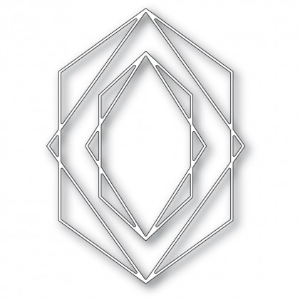 Memory Box Stanzschablone - Crystal Frames