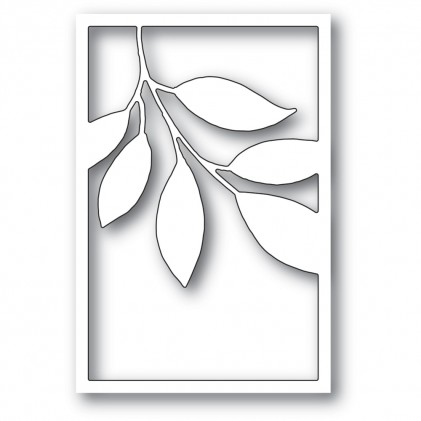 Memory Box Stanzschablone - Verdant Leaf Collage
