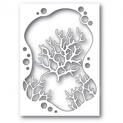 Memory Box Stanzschablone - Bubble Coral Collage