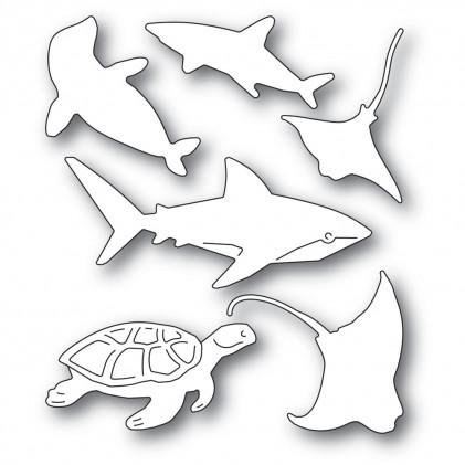 Memory Box Stanzschablone - Sea Creatures
