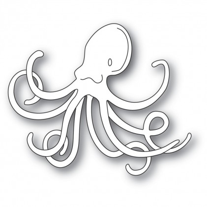 Memory Box Stanzschablone - Deep Sea Octopus