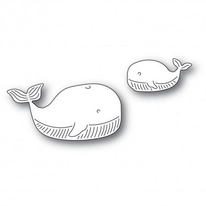 Memory Box Stanzschablone - Whale Family