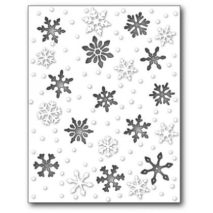 Memory Box Stanzschablone - Snowy Scene