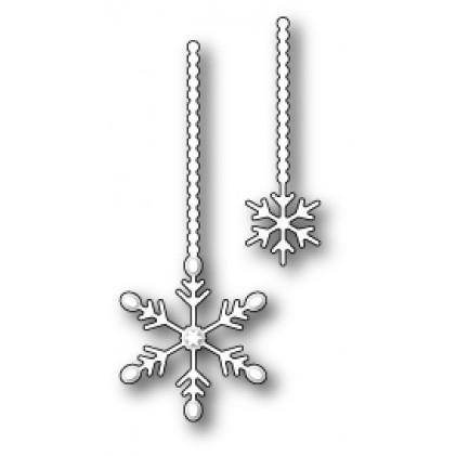 Memory Box Stanzschablone - Twinkling Snowflake Duet