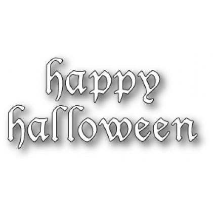 Memory Box Stanzschablone - Vintage Halloween Letters