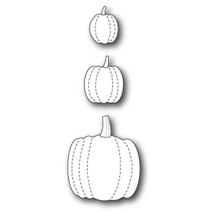 Memory Box Stanzschablone - Stitched Pumpkins