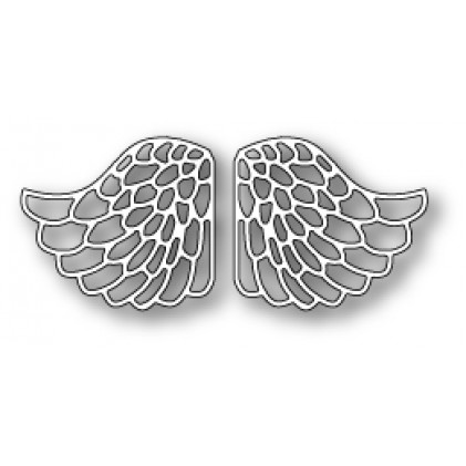 Memory Box Stanzschablone - Lacy Angel Wings