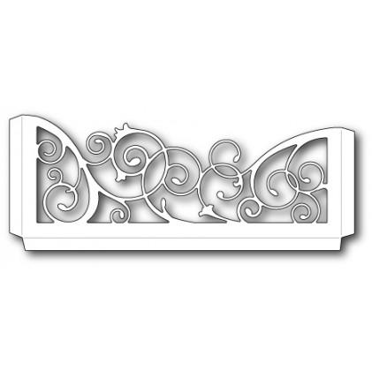 Memory Box Stanzschablone - Scrollwork Sleeve