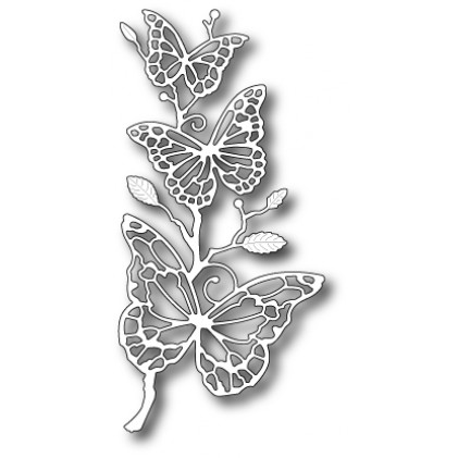 Memory Box Stanzschablone - Colette Butterfly Branch