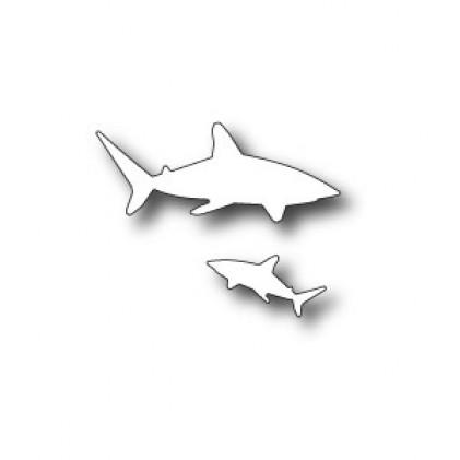 Memory Box Stanzschablone - Shark Frenzy