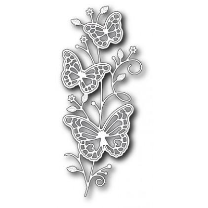 Memory Box Stanzschablone - Rylan Butterfly Stem