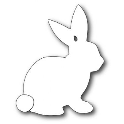 Memory Box Stanzschablone - Sketch Bunny Background