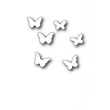 Memory Box Stanzschablone - Mini Butterflies