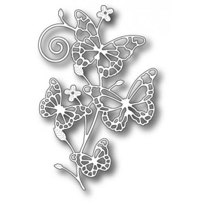 Memory Box Stanzschablone - Marielle Butterflies