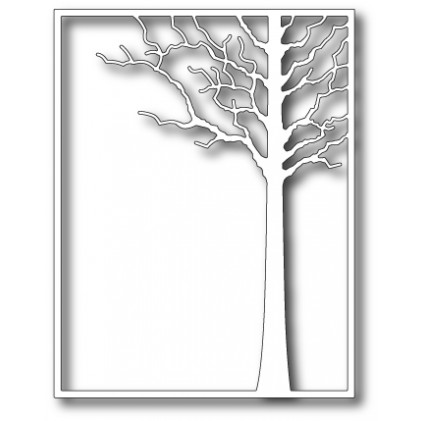 Memory Box Stanzschablone - Forest Tree Frame