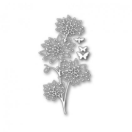 Memory Box Stanzschablone - Blooming Chrysanthemum