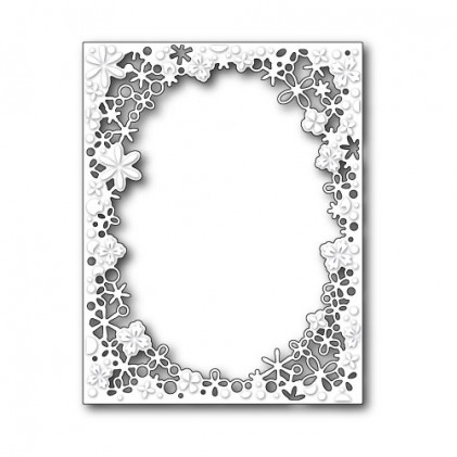 Memory Box Stanzschablone - Delicate Flower Frame