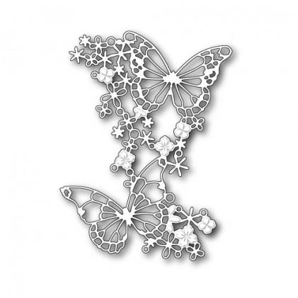 Memory Box Stanzschablone - Dizzy Butterflies