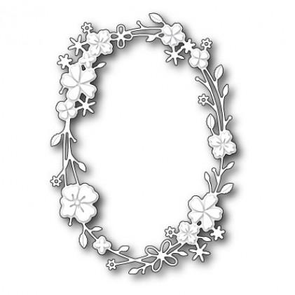 Memory Box Stanzschablone - Calla Oval Wreath