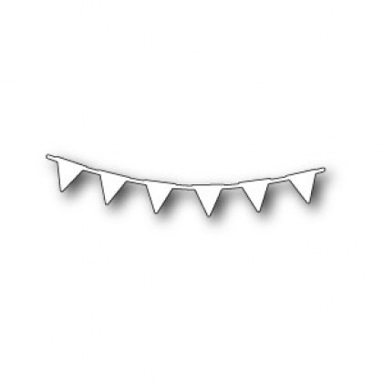 Memory Box Stanzschablone - Pennant Garland