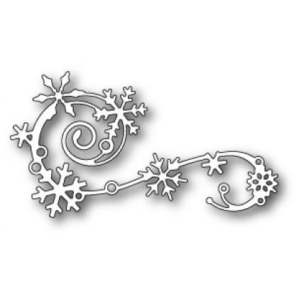 Memory Box Stanzschablone - Elegant Snowflake Flourish