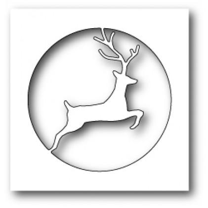 Memory Box Stanzschablone - Reindeer Circle