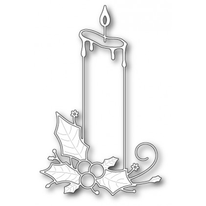 Memory Box Stanzschablone - Poinsettia Pillar