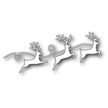 Memory Box Stanzschablone - Reindeer Parade