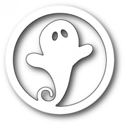 Memory Box Stanzschablone - Swirly Ghost Circle