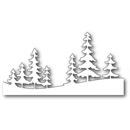 Memory Box Stanzschablone - Fresh Pine Landscape