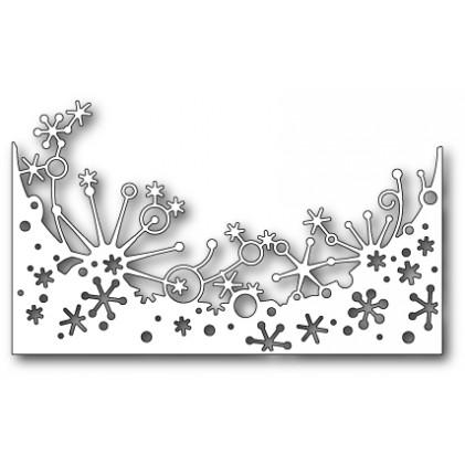 Memory Box Stanzschablone - Frostyville Snowburst