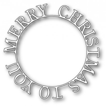 Memory Box Stanzschablone - Merry Christmas to You Ring