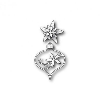 Memory Box Stanzschablone - Fanciful Poinsettia Ornament