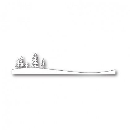 Memory Box Stanzschablone - Whispering Pine Landscape