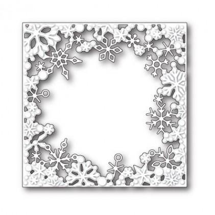 Memory Box Stanzschablone - Dancing Snowflake Square