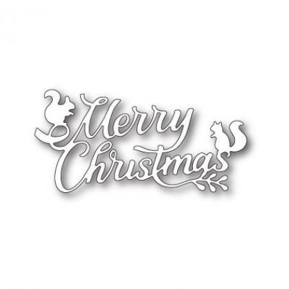 Memory Box Stanzschablone - Playful Merry Christmas