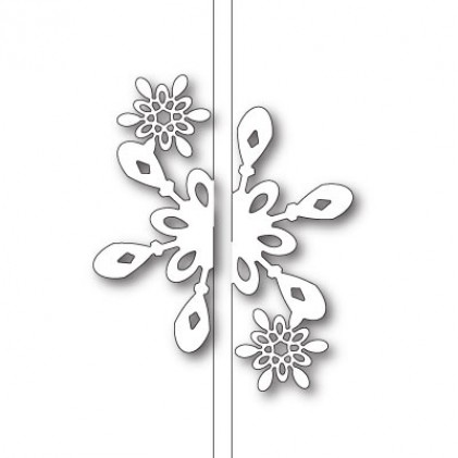 Memory Box Stanzschablone - Bright Snowflake Closer