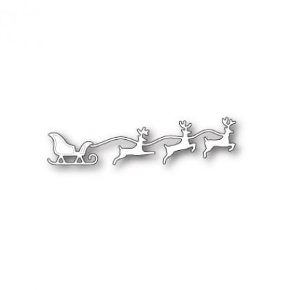 Memory Box Stanzschablone - Small Reindeer Team