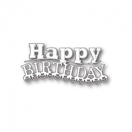 Memory Box Stanzschablone - Carnival Happy Birthday