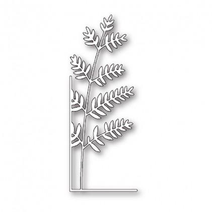 Memory Box Stanzschablone - Tall Fern Left Corner - 45% RABATT