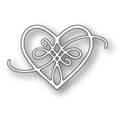 Memory Box Stanzschablone - Peyton Heart