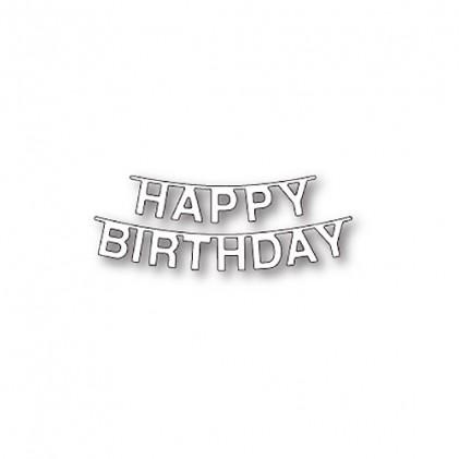 Memory Box Stanzschablone - Birthday Pennant