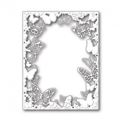Memory Box Stanzschablone - Fantasy Butterfly Frame
