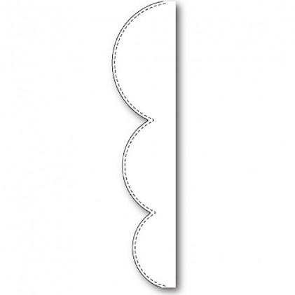 Memory Box Stanzschablone - Stitched Bump Border