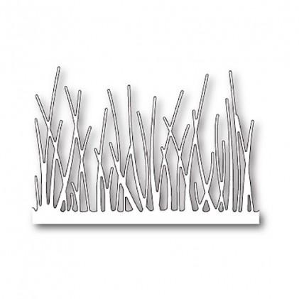 Memory Box Stanzschablone - Tall Grassy Stems Border
