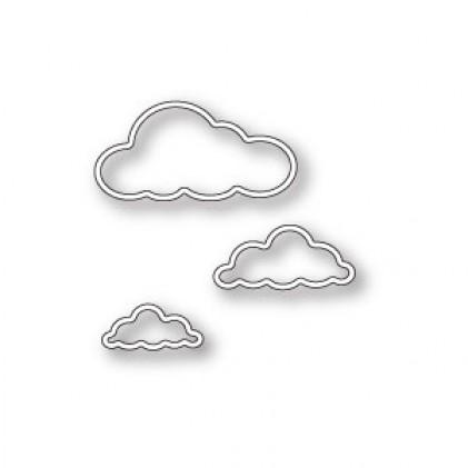 Memory Box Stanzschablone - Outline Cloud Trio