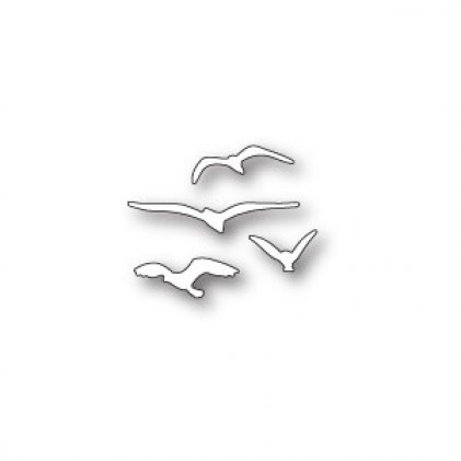 Memory Box Stanzschablone - Flying Gulls